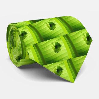 Silhouette of amagaeru neck tie