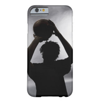 Silhouette of basketball player barely there iPhone 6 case