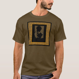 Silhouette of boy reading T-Shirt