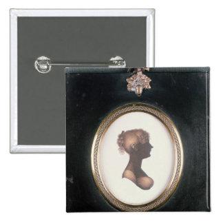 Silhouette of Cassandra Austen, c.1809 Pinback Button