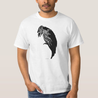 Silhouette of crow T-Shirt