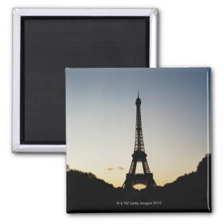 Silhouette of Eiffel Tower Magnet