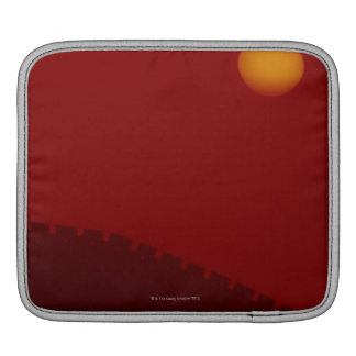 Silhouette of Great Wall of China Sleeve For iPads