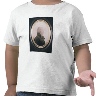 Silhouette of Major Lewis Painted on Convex T Shirts