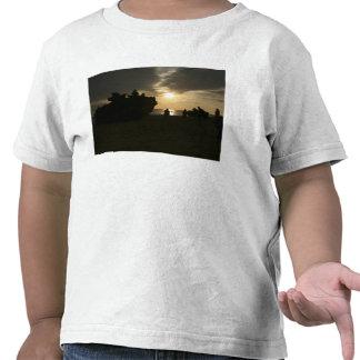 Silhouette of Marines T Shirt