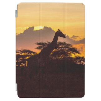 Silhouette of Masai Giraffe iPad Air Cover