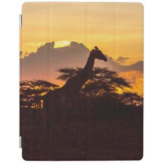 Silhouette of Masai Giraffe iPad Smart Cover
