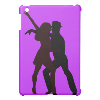 Silhouette of Salsa Dancers Case For The iPad Mini