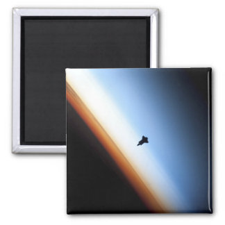 Silhouette of space shuttle Endeavour Refrigerator Magnets