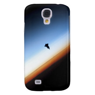 Silhouette of space shuttle Endeavour Samsung S4 Case