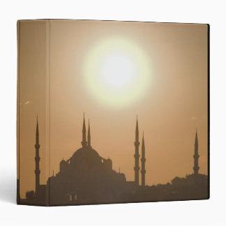 Silhouette of Suleymaniye Turkey, Istanbul Binder