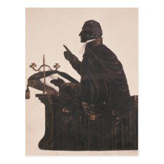 Silhouette of the Rev. L. Littleton Powys Postcard
