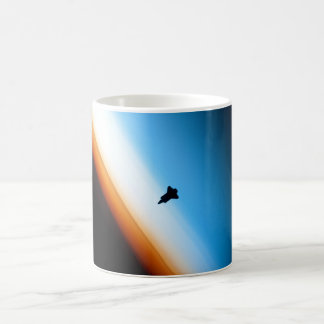 Silhouette of the Space Shuttle Endeavour Coffee Mug