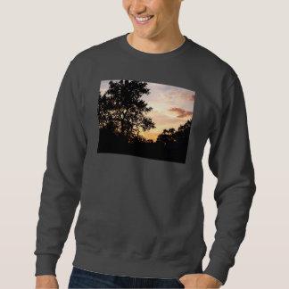 Silhouette of Trees at Sunset Sweatshirt