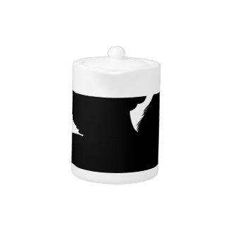Silhouette Pegasus Teapot
