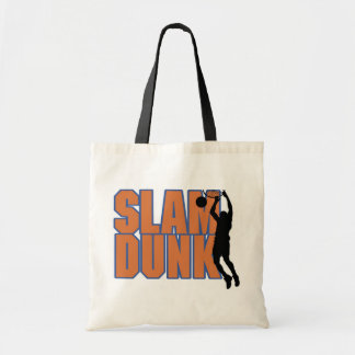 Silhouette Player Slam Dunk Tshirts and Gifts Canvas Bag