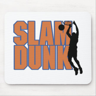 Silhouette Player Slam Dunk Tshirts and Gifts Mouse Pad