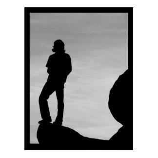Silhouette Postcard