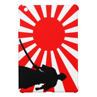Silhouette Samurai iPad Mini Cases