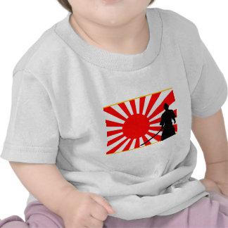 Silhouette Samurai T Shirts