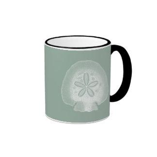 Silhouette Sand Dollar Coffee Mug