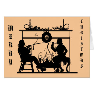 Silhouette Sensations,  By the fire 1 Card