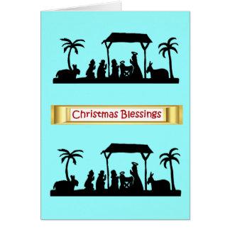 Silhouette Sensations Nativity scene7 Cards