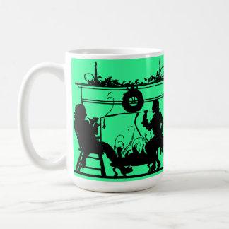 Silhouette sensations, Yuletide 6 Coffee Mug