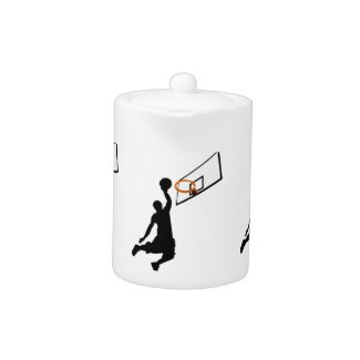 Silhouette Slam Dunk zazzle_teapot
