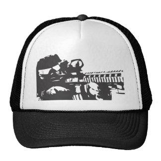 Silhouette Solider Trucker Hat