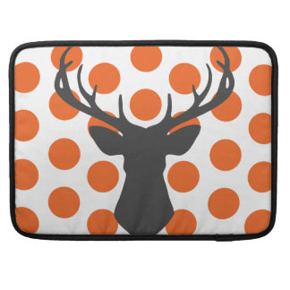 Silhouette Stag Head Sleeves For MacBook Pro