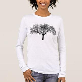 silhouette-tree long sleeve T-Shirt