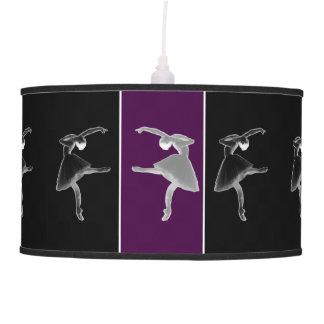 Silhouette Trio Ballet Hanging Lamp
