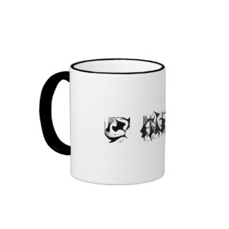 Silhouette Triptych on a Coffee Mug