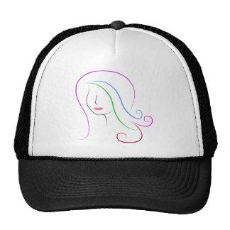 silhouette trucker hat