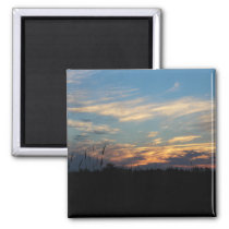 Silhouette Wall of Nature Magnet