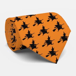 Silhouette Witch Tie