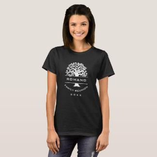Silhouette Womens Family Reunion Souvenir Gift T-Shirt