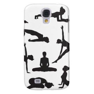 Silhouette Yoga poses HTC Vivid Cover