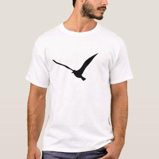 Silhouetted Bird shape T-Shirt