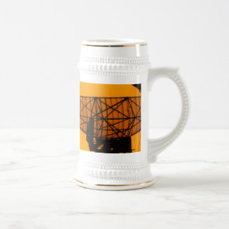 Silhouetted Boats 18 Oz Beer Stein