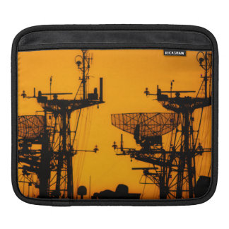 Silhouetted Boats Sleeve For iPads