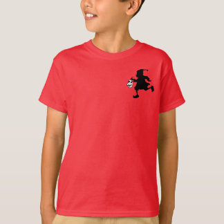 Silhouetted Brownie Carrying Mask T-Shirt