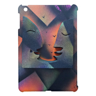 Silhouetted Conversation Cover For The iPad Mini