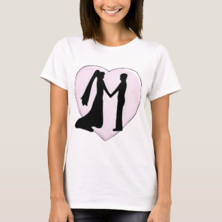 Silhouetted Heart T-Shirt
