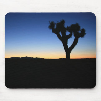 Silhouetted Joshua Tree Mouse Pad