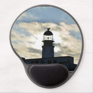 Silhouetted Lighthouse Gel Mouse Mats