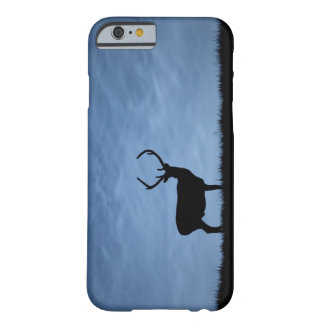 Silhouetted Red Deer Stag at Night Barely There iPhone 6 Case