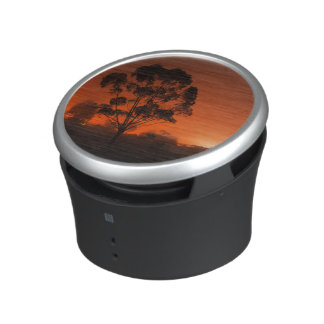 Silhouetted Tree AT Night Speaker