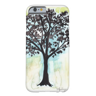 silhouetted tree barely there iPhone 6 case
